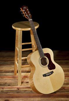 Dannys plays Guild acoustic guitars