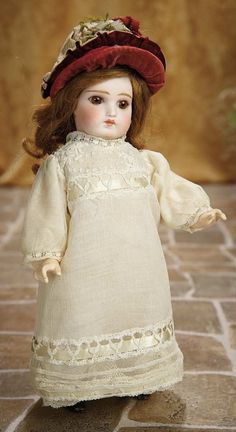 A Matter of Circumstance: 46 Sonneberg Bisque Doll by Mystery Maker for the French Market