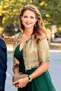 Sweden's Princess Madeleine