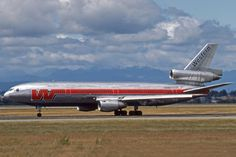 https://flic.kr/p/gtxh7E | N909WA | N909WA - McDonnell Douglas DC-10-10 - Western Airlines (in the final Western - colours) at Salt Lake City International Airport (SLC) in July 1986 c/n 46.983 - built in 1978 for Western - merged into Delta Air Lines 1997 currently registered to Global Aviation Operations as ZS-GAW - stored at Johannesburg (JNB) scanned from Kodachrome-slide