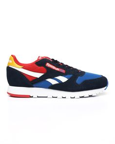 Buy CL Leather MU Sneakers Men's Footwear from Reebok. Find Reebok fashion & more at DrJays.com Sweater Boots, Sweater Hoodie, Ankle Mobility, Pink Dolphin, Diamond Supply Co, Famous Stars, Bentley Continental, Men's Footwear, Dad Hats
