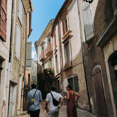 """LEA CHRISTINA's Instagram post: """"Schöne Gassen, kleines Städtchen! 💛 . . . #sauve #urlaub2020 #frankreich #schönemenschen #hippetaschen #freshefreunde"""" Poster, Street View, Instagram, Beautiful People, France, Vacation, Nice Asses, Billboard"""