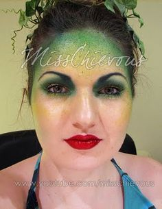 MissChievous.tv: Forest Sprite: Halloween Tutorial