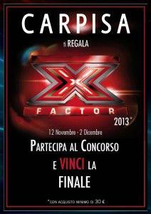 Carpisa e X Factor