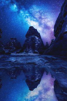 итальянский-роскошь: Млечный Путь Отражение | итальянский люкс | Instagram | Фотограф