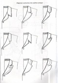 Archivo de álbumes Dress Making Patterns, Coat Patterns, Clothing Patterns, Sewing Patterns, Skirt Patterns, Corset Sewing Pattern, Pattern Drafting, Fashion Drawing Tutorial, Sewing Collars