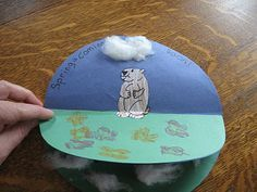 Groundhog Day Craft from Almost Unschoolers
