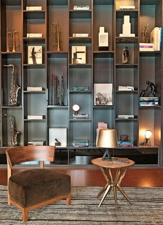 Bookshelves are not just a place to put books or other items but can also be your home decoration. Bookshelves can be placed in a corner of an unused room or look empty. Decor, Furniture, Interior, Home, House Interior, Interior Design, Furniture Design, Shelving, Affordable Bookshelf