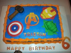 Hey, I found this really awesome Etsy listing at https://www.etsy.com/listing/175006394/avengers-inspired-fondant-cake-topper