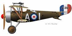 Nieuport 17 - 1916