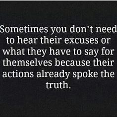 Actions speak volumes about your character.