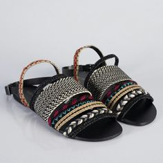 056fef5ca0 Sandalia rasteira tribal Sandálias Femininas