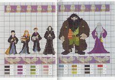 Point Cross Drayzinha: Graphic arts Harry Potter