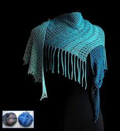 I just had to put together another set of kits for this beautiful Early Morning Rain Shawl! Mindy Ross is the amazing designer of this most unusual shawl. Talk ... Morning Rain, Early Morning, Knitting Kits, Knitting Yarn, Crescent Shawl, Evening Attire, Bead Kits, Finger Weights, Yarn Crafts