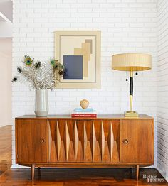 Thanks to Mad Men, mid-1900s style is trending once again in the world of interior decorating.