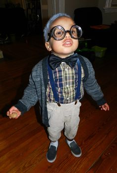 Want a cheap and AWESOME costume idea for a toddle/kid. Old Man!  sc 1 st  Pinterest & 100th Day of School costume. Toddler Old Man costume. | Ty ...