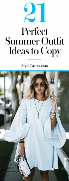 21 Cute Summer 2016 Outfits to Copy ASAP | @stylecaster