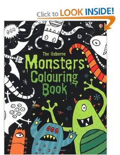 Monsters Colouring Book (Usborne Colouring Books): Amazon.co.uk: Kirsteen Rogers, Candice Whatmore: Books