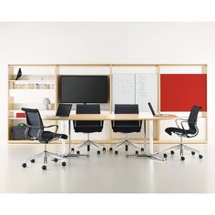 Herman Miller_Canvas Office Landscape Group Based Team Walls