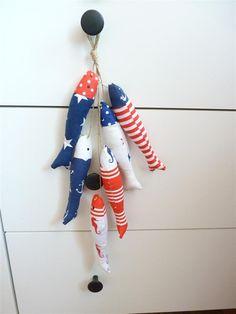 Girlanden & Wimpelketten - Eine dekorative Girlande Fische 1 - ein Designerstück von DianaP-Art bei DaWanda