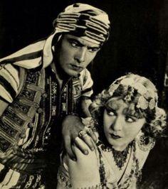 Rudy as The Sheik with Yasmine