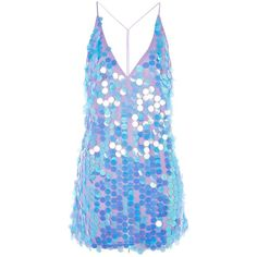 **Finn Deep V-Neck Sequin Slip Dress by Motel 24 Easy Sytish Ways to Recreate Sequin Skirt Outfits Blue Sequin Dress, Blue Party Dress, Sequin Party Dress, Sequin Cocktail Dress, Cocktail Dresses, Party Dresses, Slip Dresses, Sequin Skirt, Girls Fashion Clothes