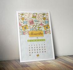 Diseño de Calendario BluBlu. Edición limitada.