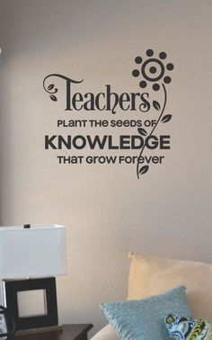 SlapArt Teachers plant the seeds of knowledge by VinylMasterpieces, $15.99