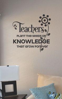 SlapArt Teachers plant the seeds of knowledge by VinylMasterpieces, $15.99