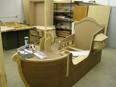 Pirate Ship Bed by mbhaysks, via Flickr