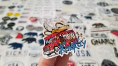 2018 konlay monkey in a bus sticker brandy melville Brandy Melville Stickers, Preppy Stickers, Monkey, Collection, Jumpsuit, Monkeys, At Sign