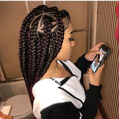 37 Latest Fulani Short Box Braids Hairstyles For Black Women To Copy Box Braids Hairstyles For Black Women, Black Girl Braids, African Braids Hairstyles, Braids For Black Hair, Girls Braids, Weave Hairstyles, Girl Hairstyles, School Hairstyles, Trendy Hairstyles