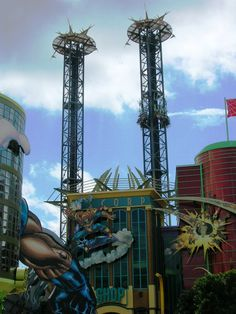 Islands of Adventure, Universal Orlando... I really should've watched this ride first... I was not expecting part of it!