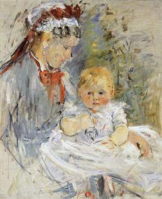 Berthe Morisot The Wet Nurse 1880 73 x 60 cm Oil on canvas Ny Carlsberg Glyptotek, Copenhagen