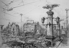"""арт репортер - картини от една изложба: Станимир Стоилов: """"София-сега!"""""""
