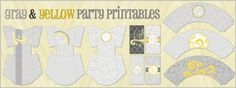 This FREE set of party printables includes:        • 3 Fry Boxes    • 3 Cupcake Wrappers   • 8 Mini Candy Bar Wrappers