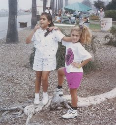 Kim&Allison Nostalgic Pictures, Young Kim, Jenner Family, Those Were The Days, Kendall And Kylie Jenner, 7 Year Olds, Kardashian Jenner, My Best Friend, Bff