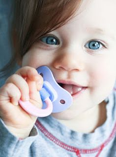 February is Children's Dental Health Month - Week Four - Thumb/finger/pacifier habits, dental/tooth injuries, and athletic mouthguards Dental Kids, Dental Care, Children's Dental, Dental Hygienist, Pacifier Weaning, Dental Health Month, Cute Little Baby, Binky, Toddler Preschool