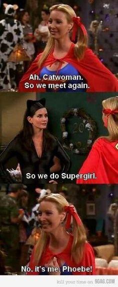 Phoebe Buffay, you are sooo funny! Friends Show, Friends Moments, I Love My Friends, Friends Forever, Friends Phoebe, Friends Episodes, Tv Episodes, Friends Season 8, Friends Scenes