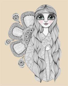 Sunshine Girl | Danielle Reck #illustration
