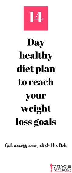 It covers the nutrition side, the workouts needed for a toned and strong body, and helps you to develop the right mindset to keep winning. It is a lifestyle change, and you can have your breakthrough in just 2 weeks. Workout & diet plan, 2 week diet plan, healthy diet plan, lose weight fast, 14 day diet plan #weight loss #diet #workout