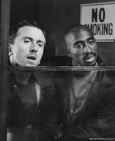 Tim Roth & 2Pac O_O | Tim Roth & Tupac | WHAT IS THIS FROM!?!?!?!?! #capslock_required #tim_roth #Tupac