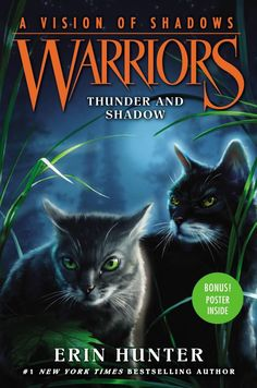 Warriors: A Vision of Shadows book 2: Thunder and Shadow COMING OUT SEMPTEMBER 6, 2016!!!!!!!!!!