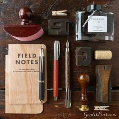 Goulet Pens Blog: Thursday Things: Knock on Wood