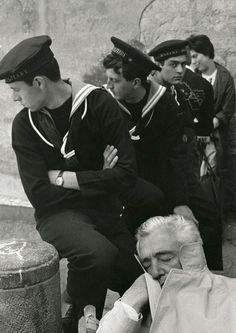 Vittorio di Sica by Herbert List, Naples,1961