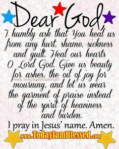 Dear God..