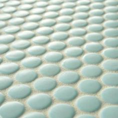 Merola Tile, Metro Penny Matte Light Blue 9-7/8 in. x 11-1/2 in. x 5 mm Porcelain Mosaic Floor and Wall Tile (7.96 sq.ft./case), FXLMPML at The Home Depot - Mobile