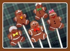 Gingerbread Cake Pops 1