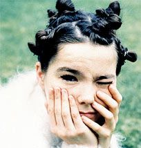 I wish I could pull off some of the looks Bjork has had with as much bad-assery as she has done. Always confident, always beautiful.