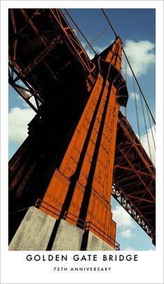Creative Review - Golden Gate Bridge 75th anniversary posters